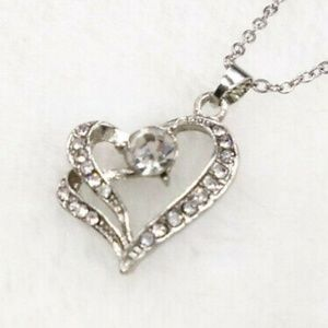 💞 Two Hearts Make 1 Chain Necklace 💞